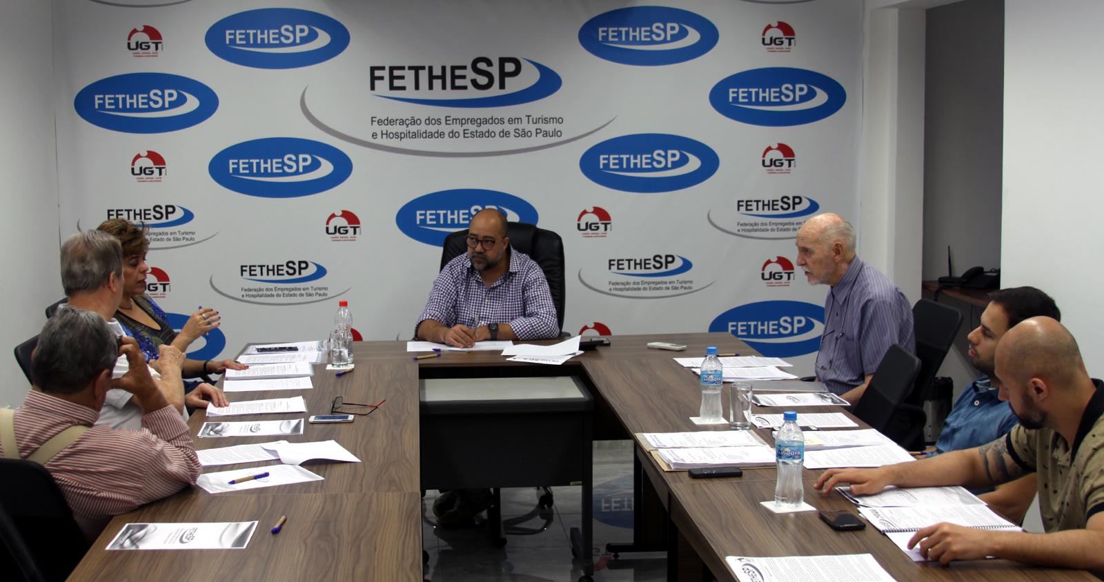 FETHESP e sindicatos filiados preparam pautas de reivindicações dos trabalhadores em Empresas de Turismo e em Casas de Diversões