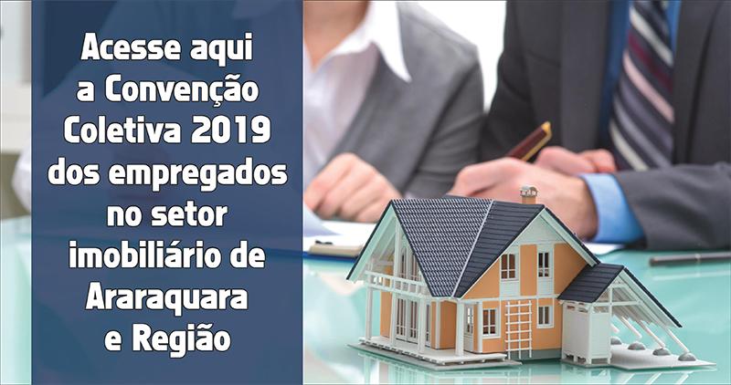 FETHESP assina Convenção Coletiva 2019 dos empregados no setor imobiliário de Araraquara e Região