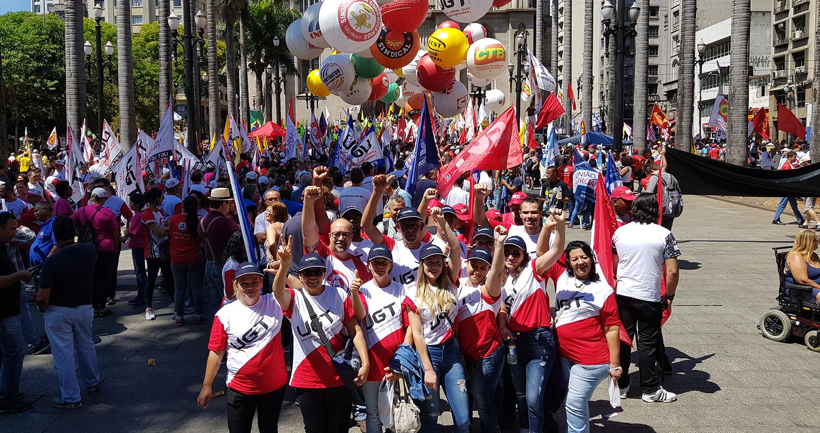FETHESP participa do Dia Nacional de Mobilização contra o desmonte de direitos