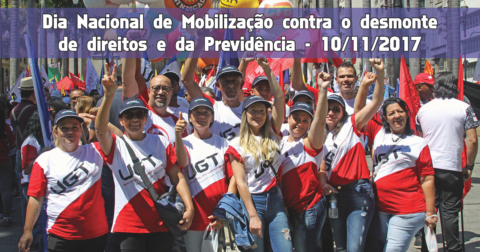Dia Nacional de Mobilização contra o desmonte de direitos