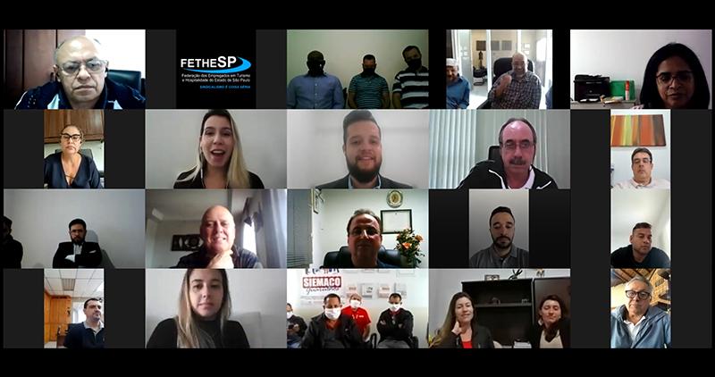 FETHESP realiza palestra sobre LGPD para sindicatos filiados