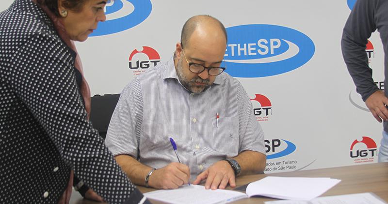 Nova Diretoria da FETHESP toma posse em São Paulo