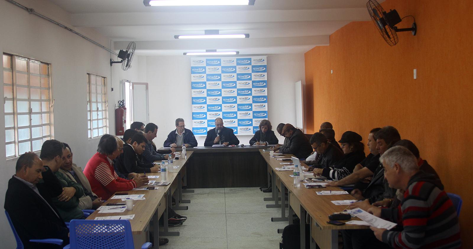 Reunião de Diretoria - Apresentações Salão Parceiro