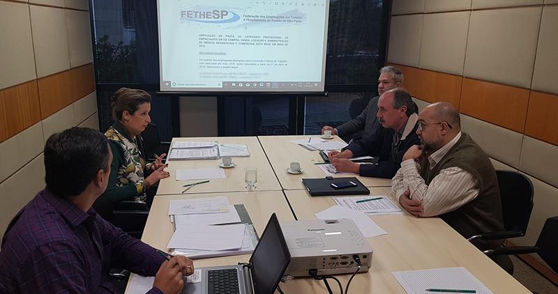 FETHESP inicia negociação coletiva 2019 dos empregados do setor imobiliário