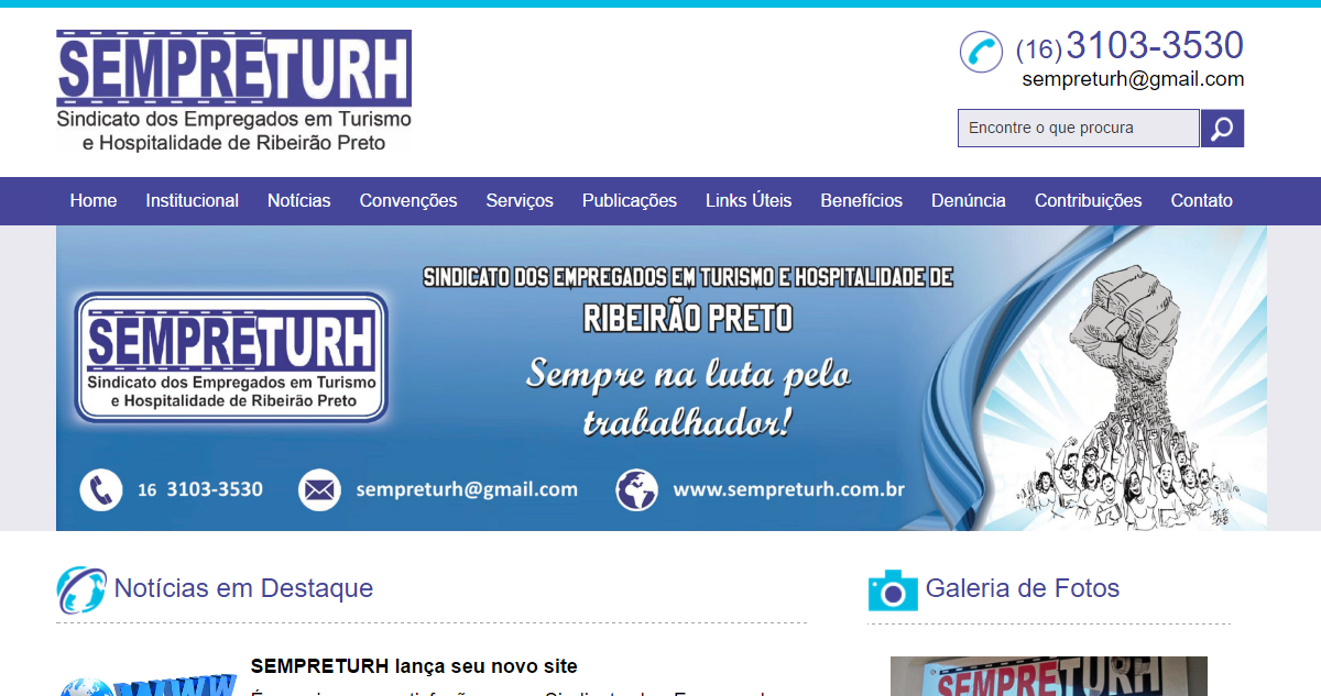 Filiado à FETHESP, Sempreturh de Ribeirão Preto/SP lança novo site