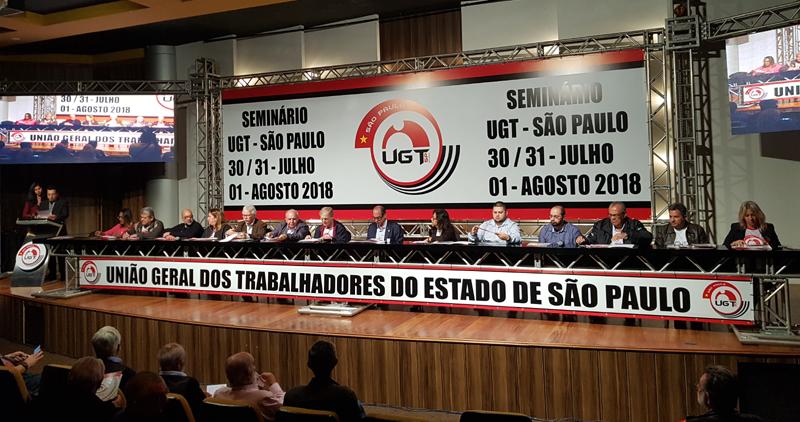 UGT-SP realiza seminário sobre sindicalismo pós reforma trabalhista