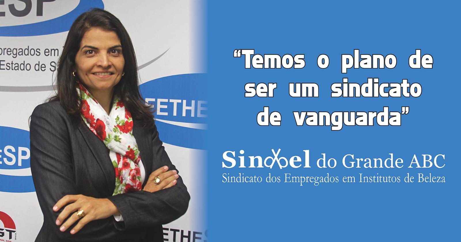 Entrevista com Débora Simão, presidente do Sindbel