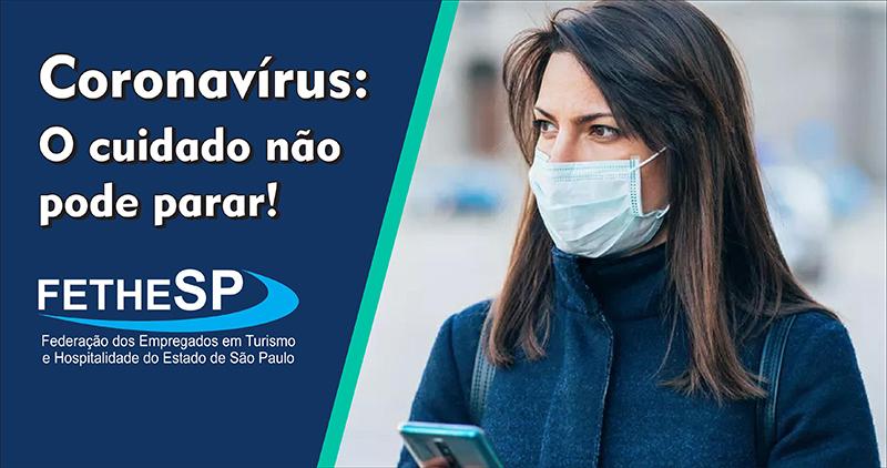 Coronavírus - o cuidado não pode parar!