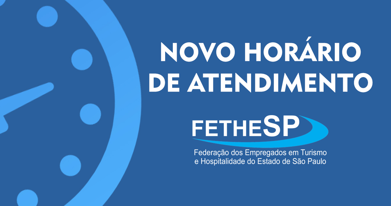 Informe: Alteração do horário de expediente da federação