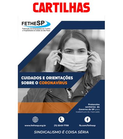Cartilha Cuidados Coronavírus