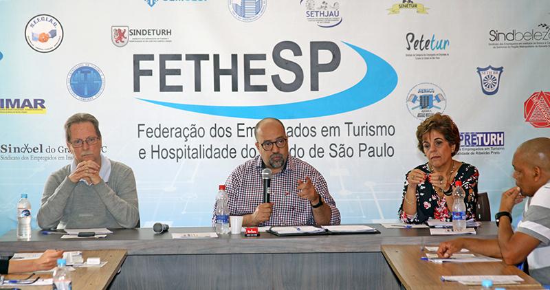 Reunião de Diretoria FETHESP - 26/10/2017