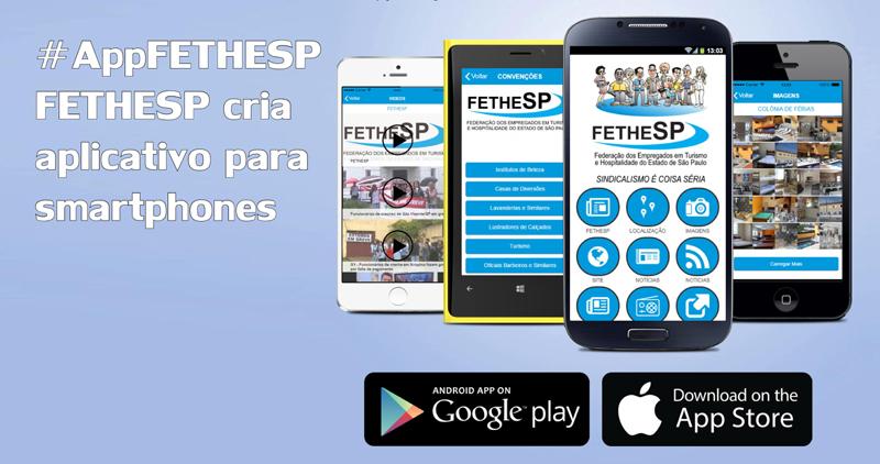 FETHESP apresenta aplicativo para smartphones